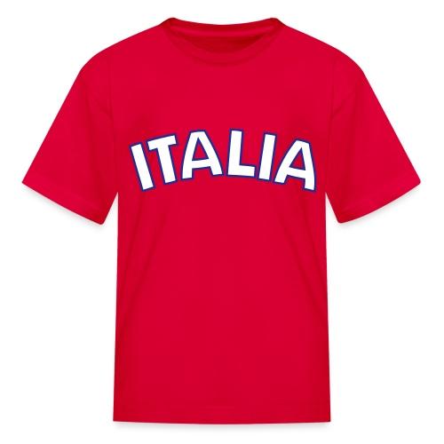 Kids Italia, Red - Kids' T-Shirt