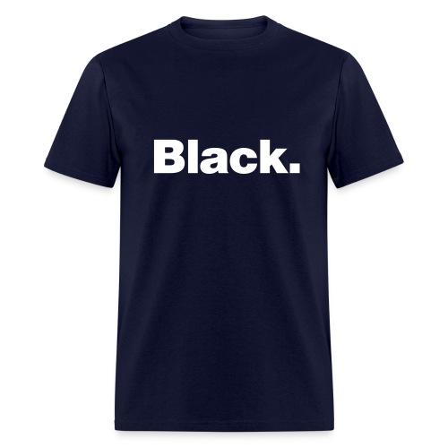 Black/White - Men's T-Shirt
