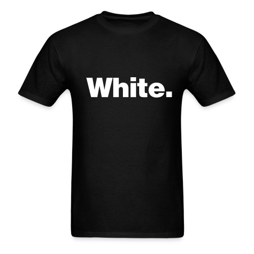 White Shirt - Men's T-Shirt