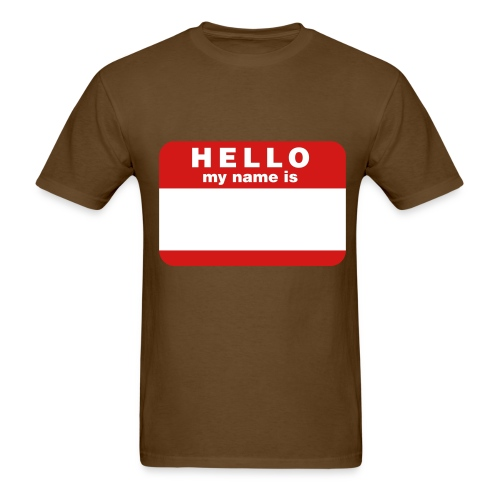 My Name Is - Men's T-Shirt