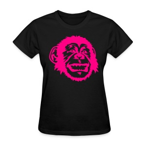 Pink Monkey Women Tee - Women's T-Shirt