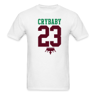 T-Shirts ~ Men's T-Shirt ~ $5 OFF! LeBron James Crybaby Tee