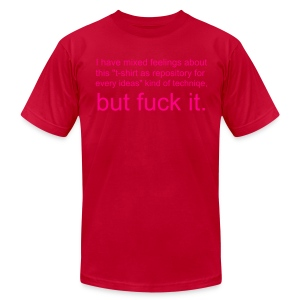 Bennett's Comment - Men's T-Shirt by American Apparel