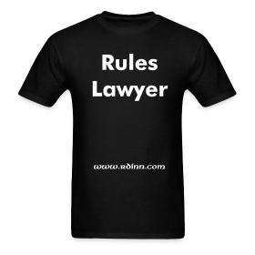 Rules Laywer ~ 0