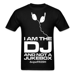 Respect The DJ - Men's T-Shirt