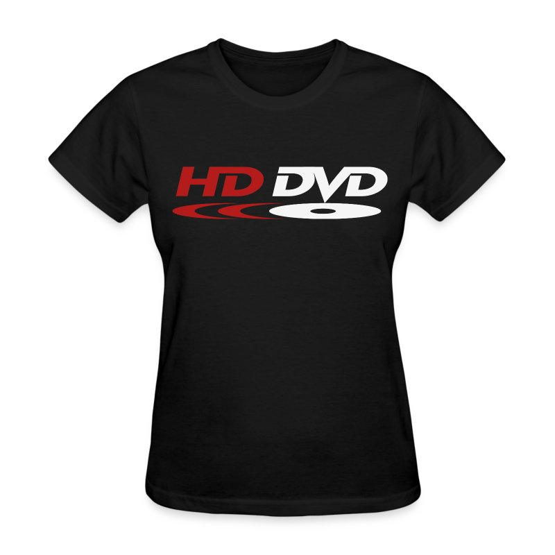HD-DVD Tee (red & white logo) - Women's T-Shirt