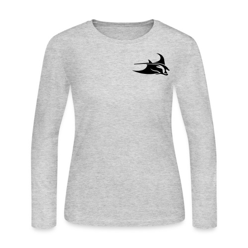 Manta Ray Long Sleeve - Women's Long Sleeve Jersey T-Shirt