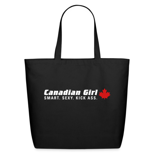 Canadian Girl - Eco-Friendly Cotton Tote
