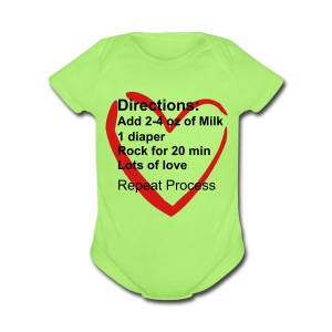 Special Ingredients One size - Short Sleeve Baby Bodysuit