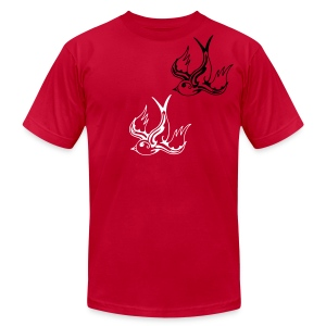 Birds of Song - Men's Fine Jersey T-Shirt