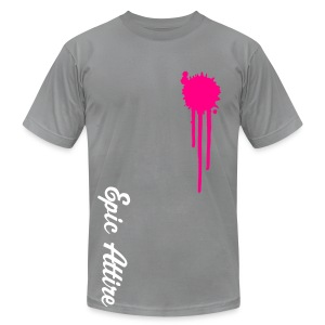 Epic Attire Splatter - Men's Fine Jersey T-Shirt
