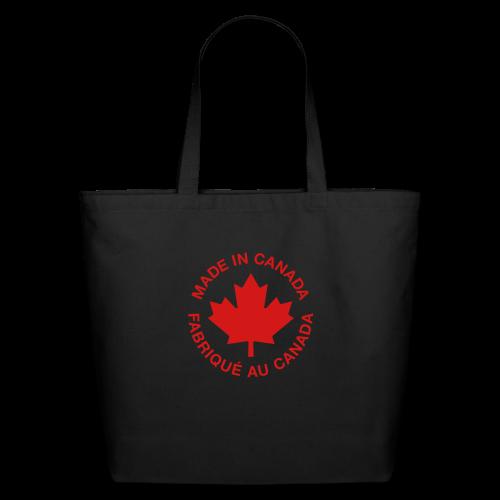 Made in Canada - Eco-Friendly Cotton Tote