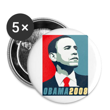 VOTE FOR BARACK OBAMA 2008 DESIGN
