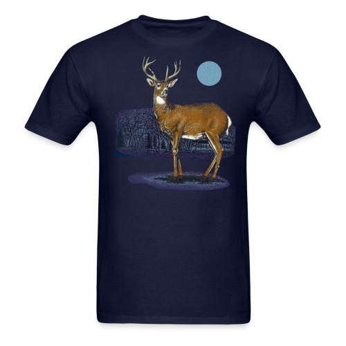 Space Deer From the Distant Future - Men's T-Shirt