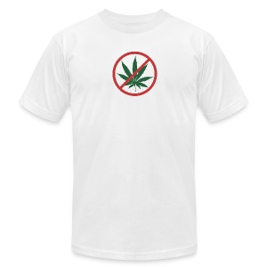 Official Super High Me White T-Shirt - On the Wagon - Men's T-Shirt by American Apparel