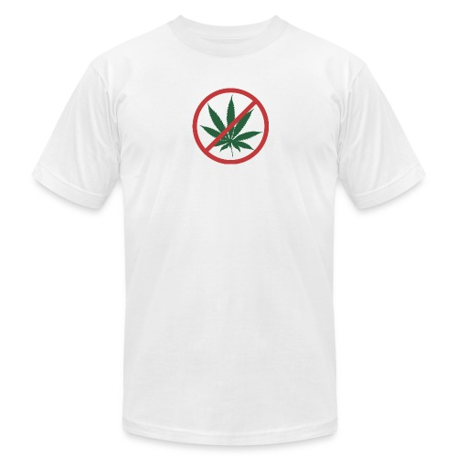 Official Super High Me White T-Shirt - On the Wagon - Men's Fine Jersey T-Shirt