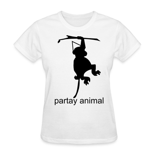 Partay Animal - Chicks - Women's T-Shirt