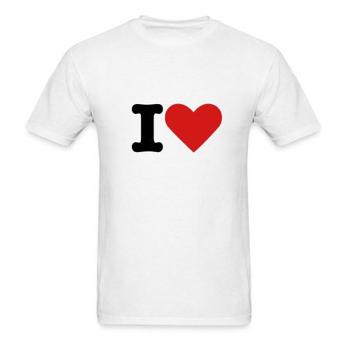 I love.. - Men's T-Shirt
