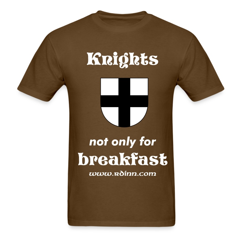 Knights - not only for Breakfast - Men's T-Shirt