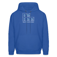 Hoodies ~ Men's Hoodie ~ Classic Periodic Table [elements]