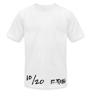 Signed and Numbered - 10/20 - Men's T-Shirt by American Apparel