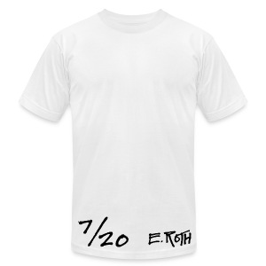 Signed and Numbered - 7/20 - Men's T-Shirt by American Apparel