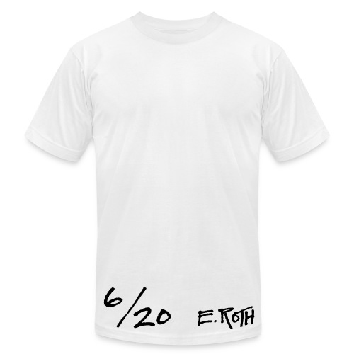 Signed and Numbered - 6/20 - Men's T-Shirt by American Apparel