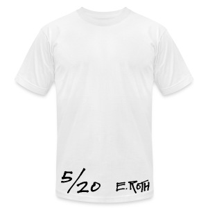 Signed and Numbered - 5/20 - Men's T-Shirt by American Apparel