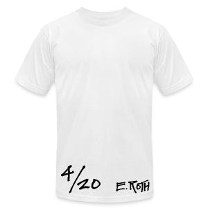Signed and Numbered - 4/20 - Men's T-Shirt by American Apparel