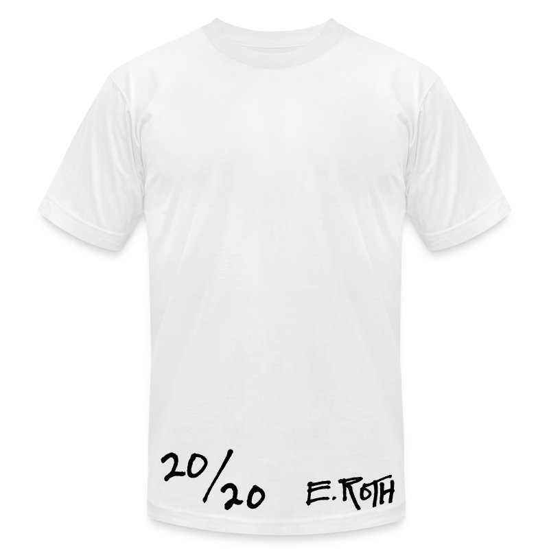 Signed and Numbered - 20/20 - Men's T-Shirt by American Apparel