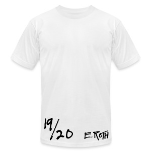Signed and Numbered - 19/20 - Men's T-Shirt by American Apparel