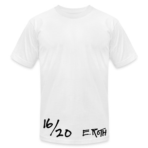 Signed and Numbered - 16/20 - Men's T-Shirt by American Apparel