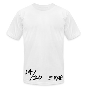 Signed and Numbered - 14/20 - Men's T-Shirt by American Apparel