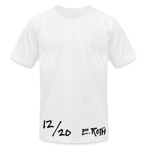 Signed and Numbered - 12/20 - Men's Fine Jersey T-Shirt