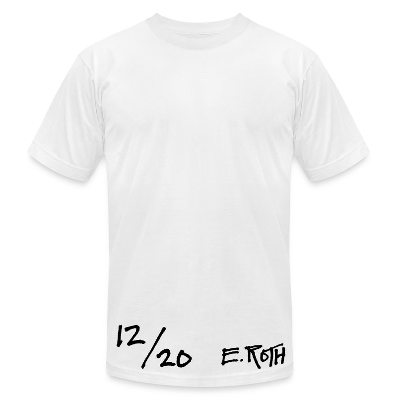 Signed and Numbered - 12/20 - Men's T-Shirt by American Apparel