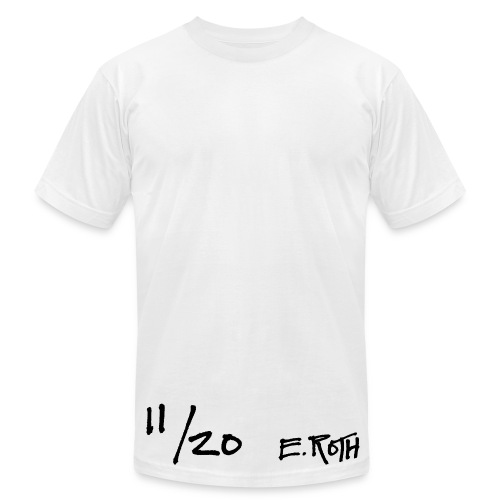 Signed and Numbered - 11/20 - Men's T-Shirt by American Apparel