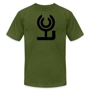 FCC Tee (black logo) - Men's Fine Jersey T-Shirt