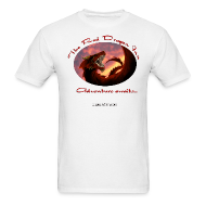 T-Shirts ~ Men's T-Shirt ~ Red Dragon Inn Men's Logo Tee