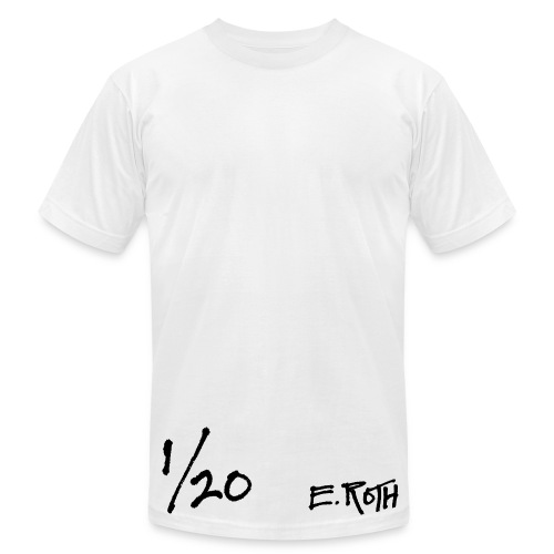 Signed and Numbered - 1/20 - Men's T-Shirt by American Apparel