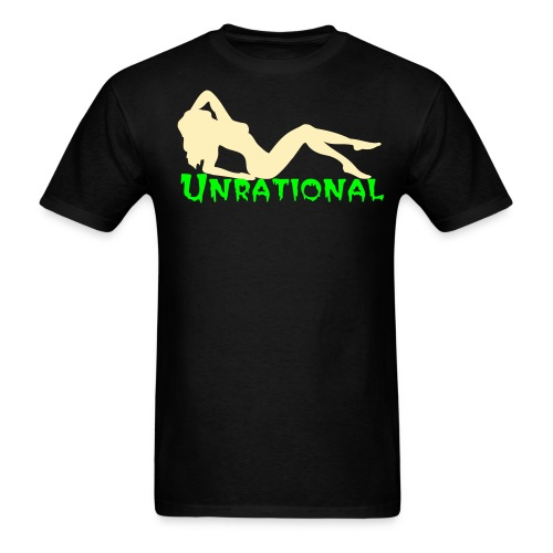 Unrational Nude Lady Tee - Men's T-Shirt