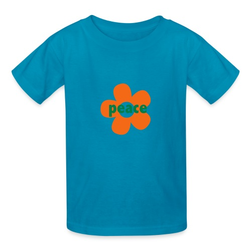 * peace flower *   - Kids' T-Shirt