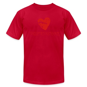 Guys' Heart Tee - Men's T-Shirt by American Apparel