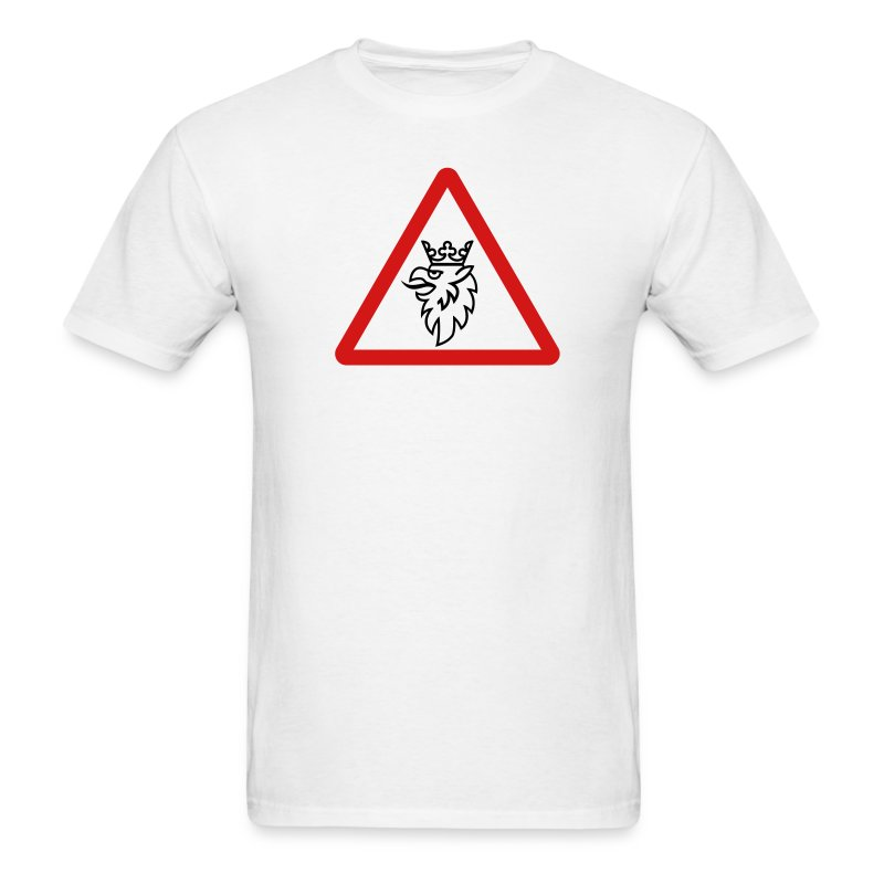 Griffin ahead warning - Men's T-Shirt