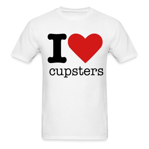 iheartcupsters - Men's T-Shirt