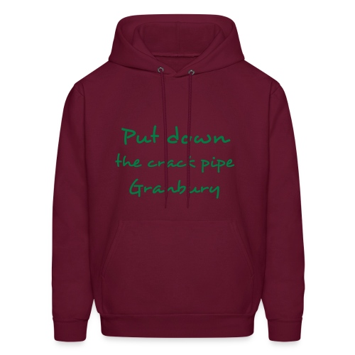 put down the crack pipe mrn - Men's Hoodie