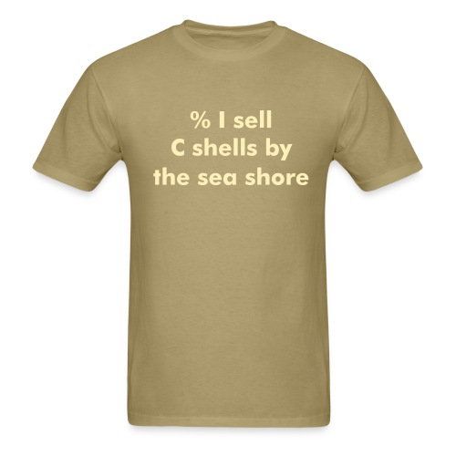 C shells - Men's T-Shirt