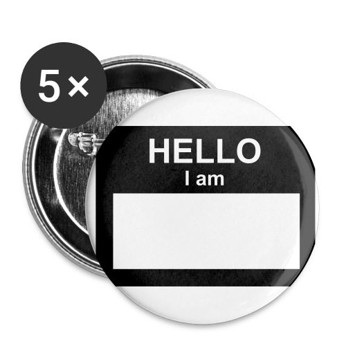 Hello I am..... - Large Buttons