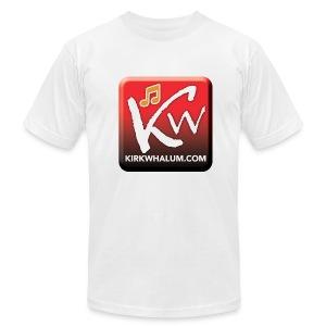 Kirk Whalum.com LOGO-T [Men] - Men's Fine Jersey T-Shirt