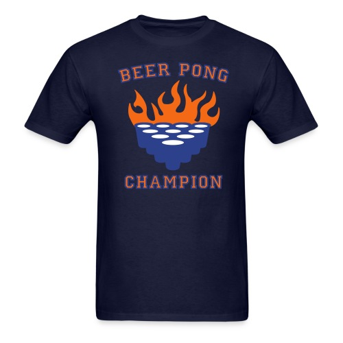 BEER PONG CHAMP - Men's T-Shirt