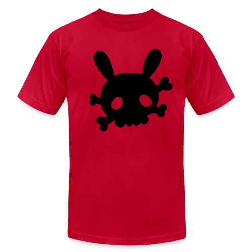 Retro Splash Bunny - Men's Fine Jersey T-Shirt